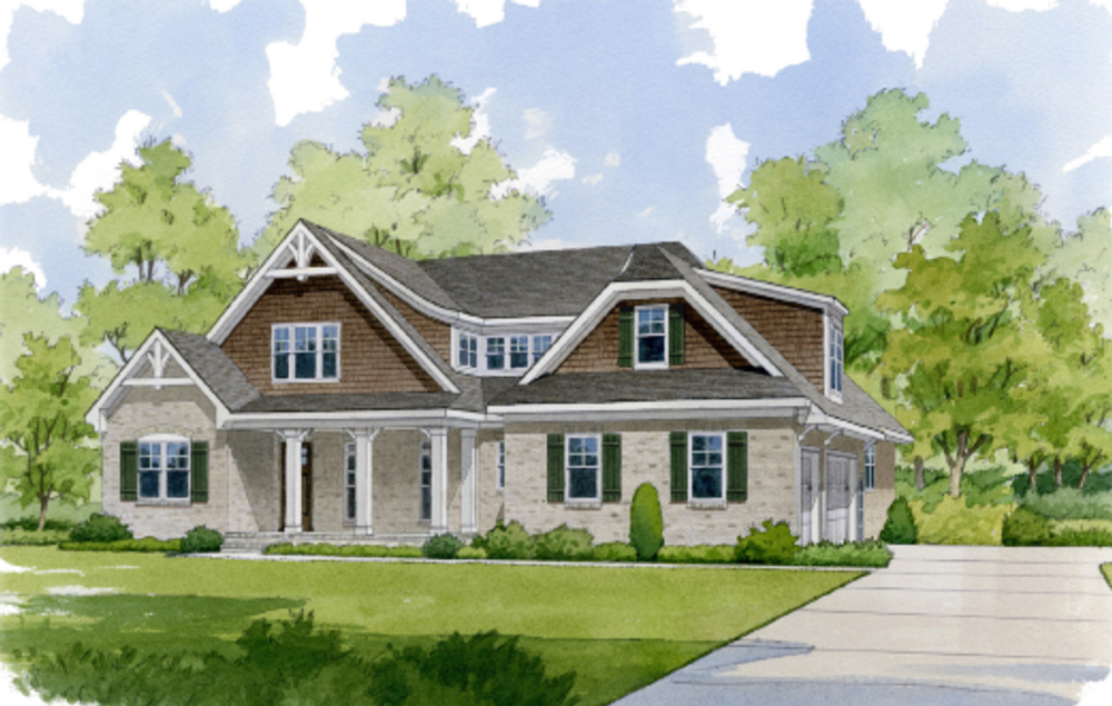 York county sc custom homes for sale waddell custom homes for Summerlake house plan